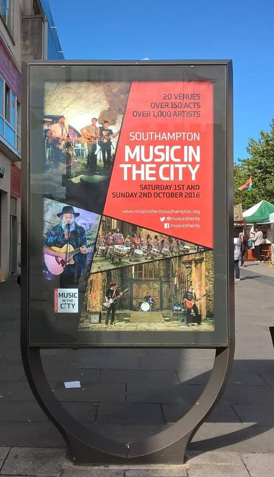 Music in the City 2016 Poster