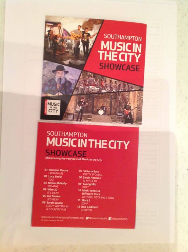 Music in the City 2016 CD