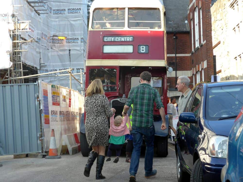 Free Music in the City Heritage Buses
